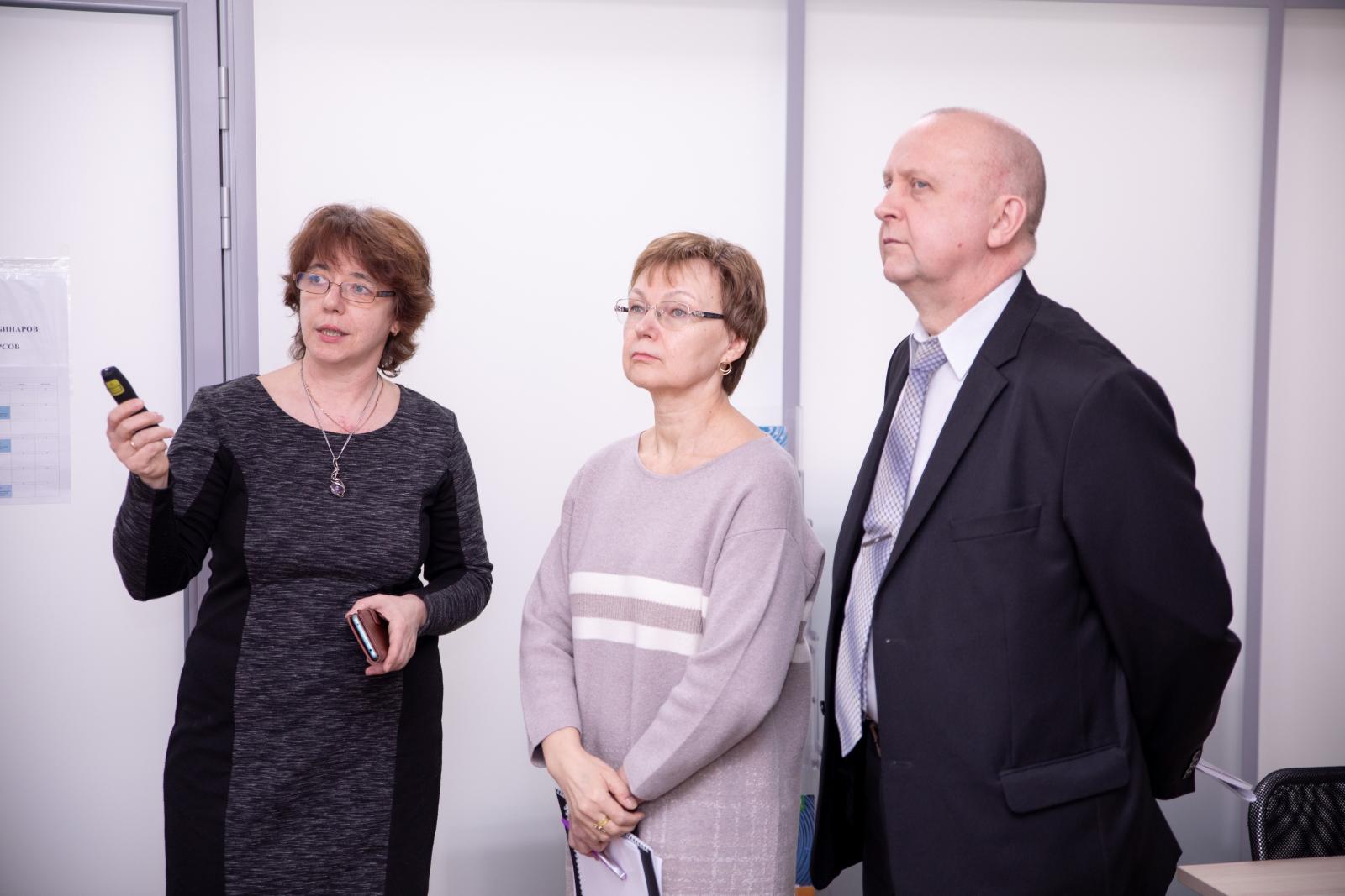 Визит делегации из МГТУ в СПбПУ