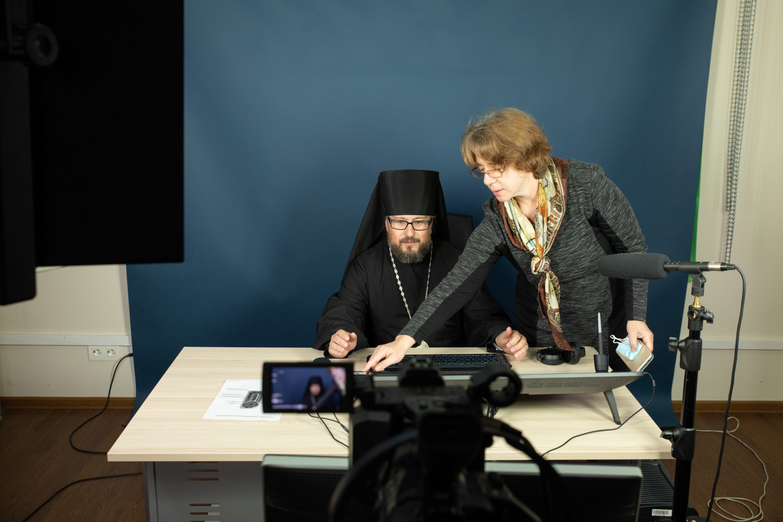 Митрополит Санкт-Петербургский и Ладожский Варсонофий посетил СПбПУ